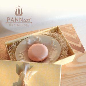 Mala škatlica s posodo za milo PANNmila